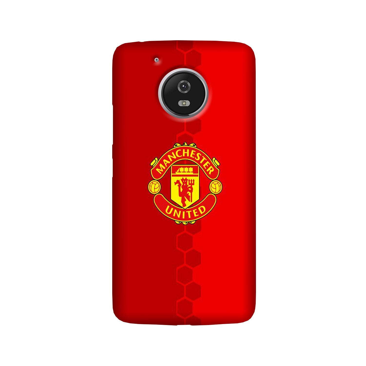 Manchester United Case for Moto G5 Plus  (Design - 157)
