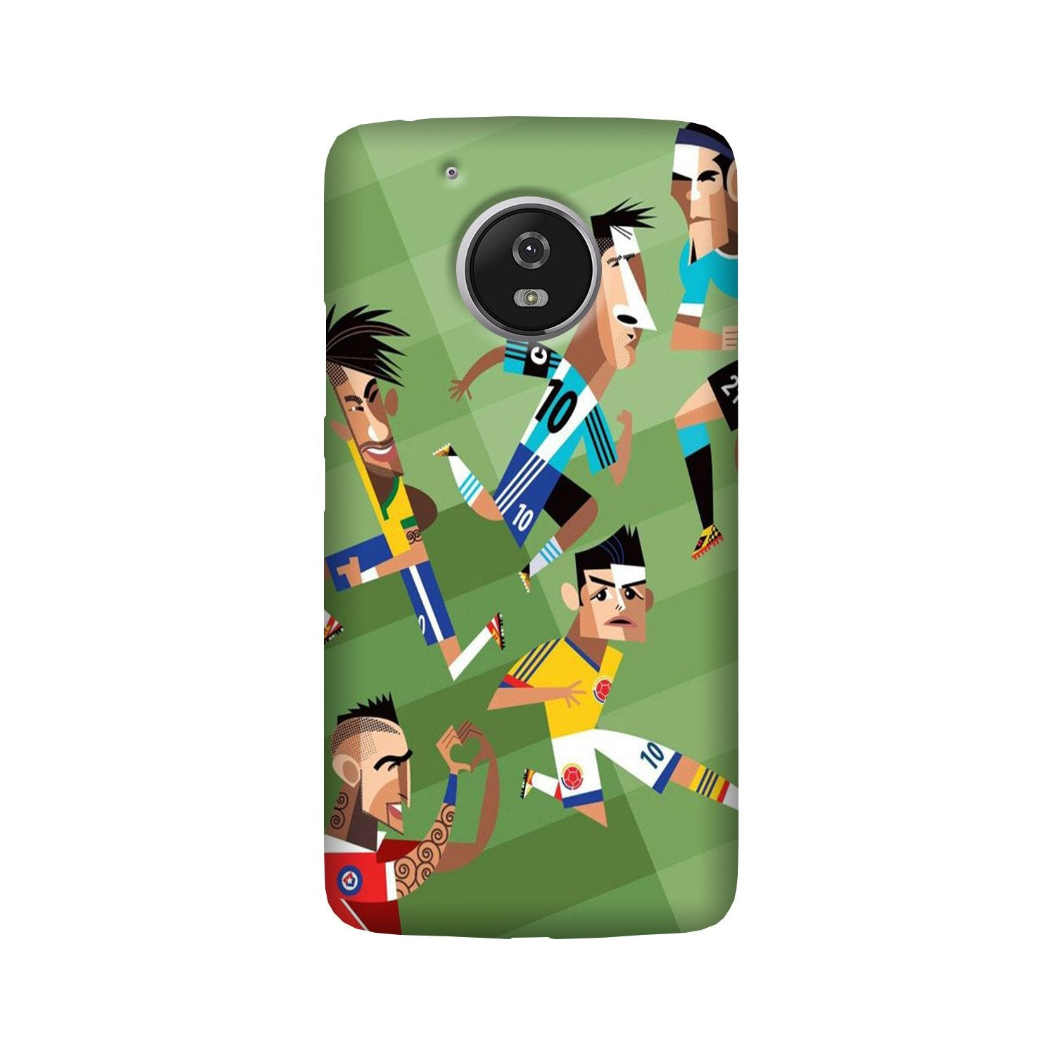 Football Case for Moto G5  (Design - 166)