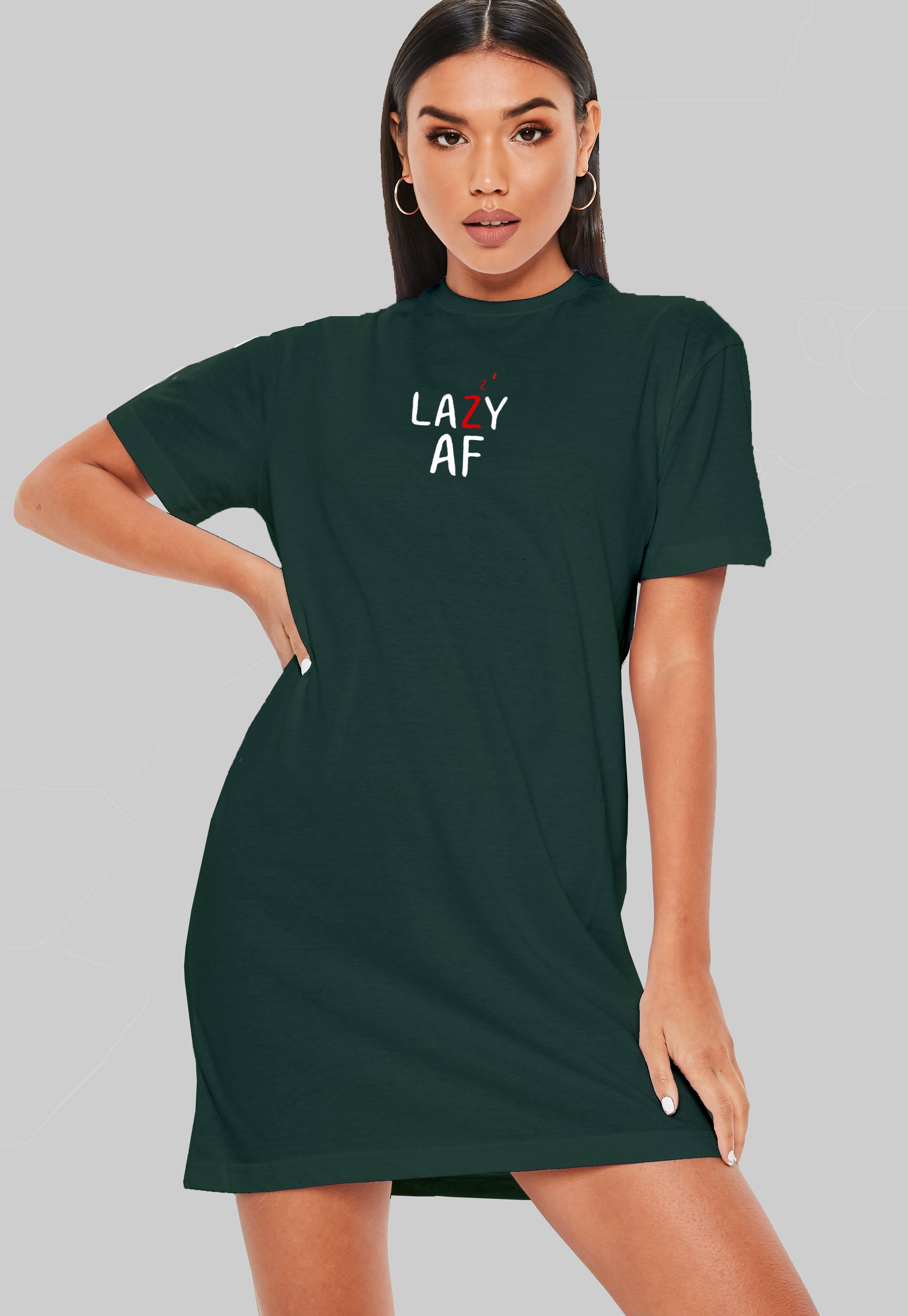 Lazzy T-Shirt Dress