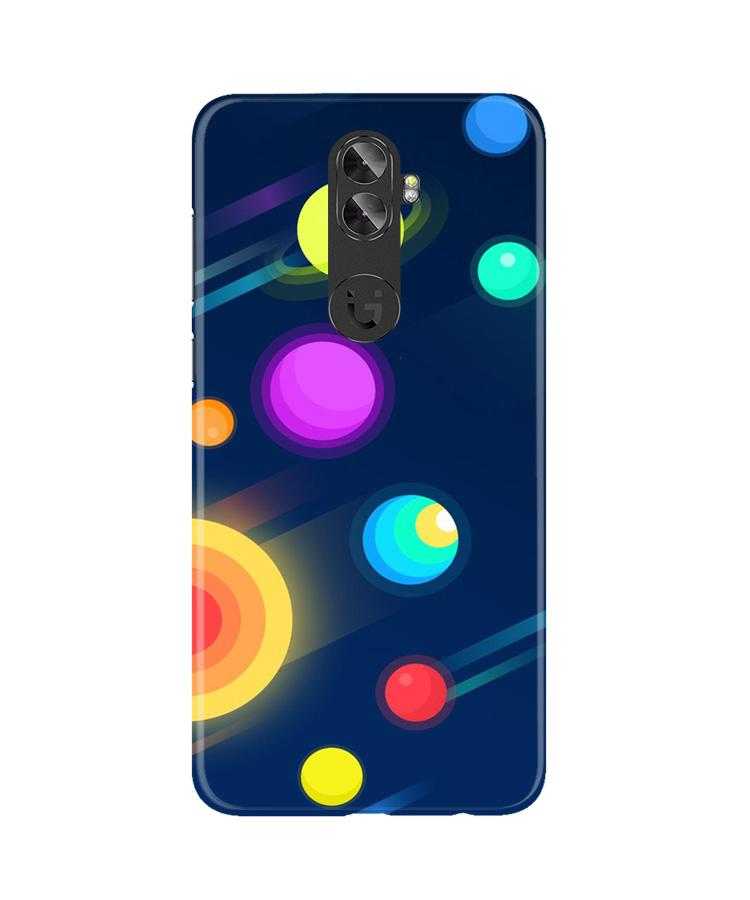 Solar Planet Case for Gionee A1 Plus (Design - 197)