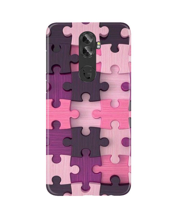 Puzzle Case for Gionee A1 Plus (Design - 199)