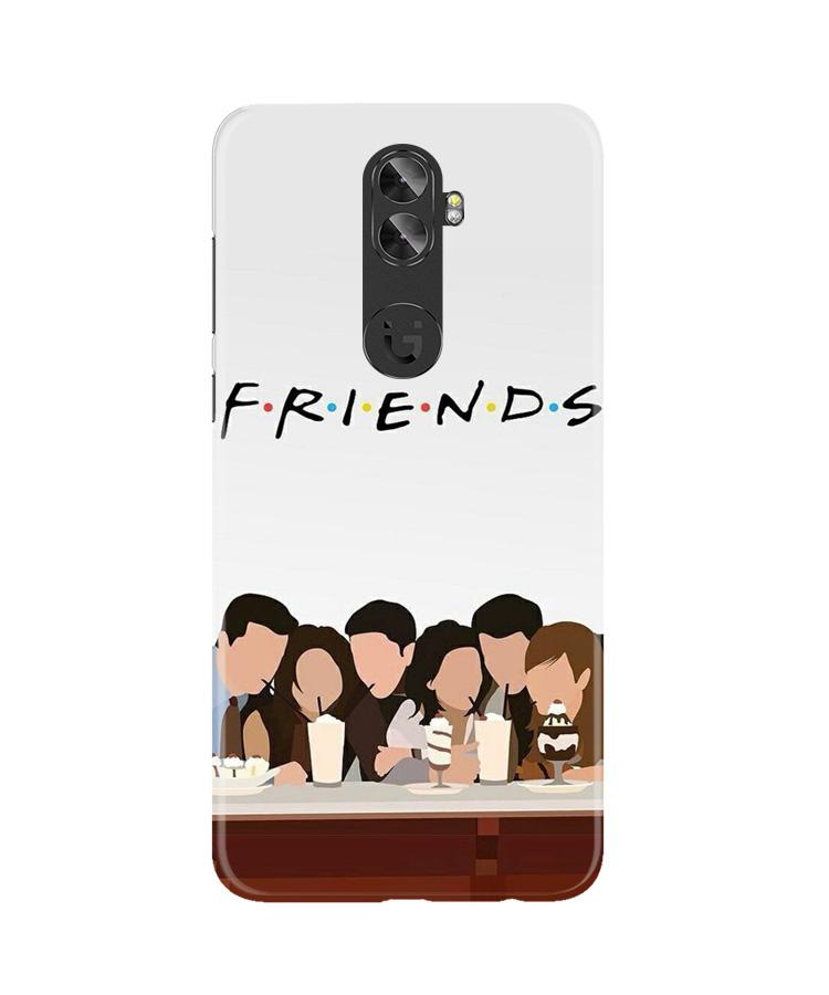 Friends Case for Gionee A1 Plus (Design - 200)