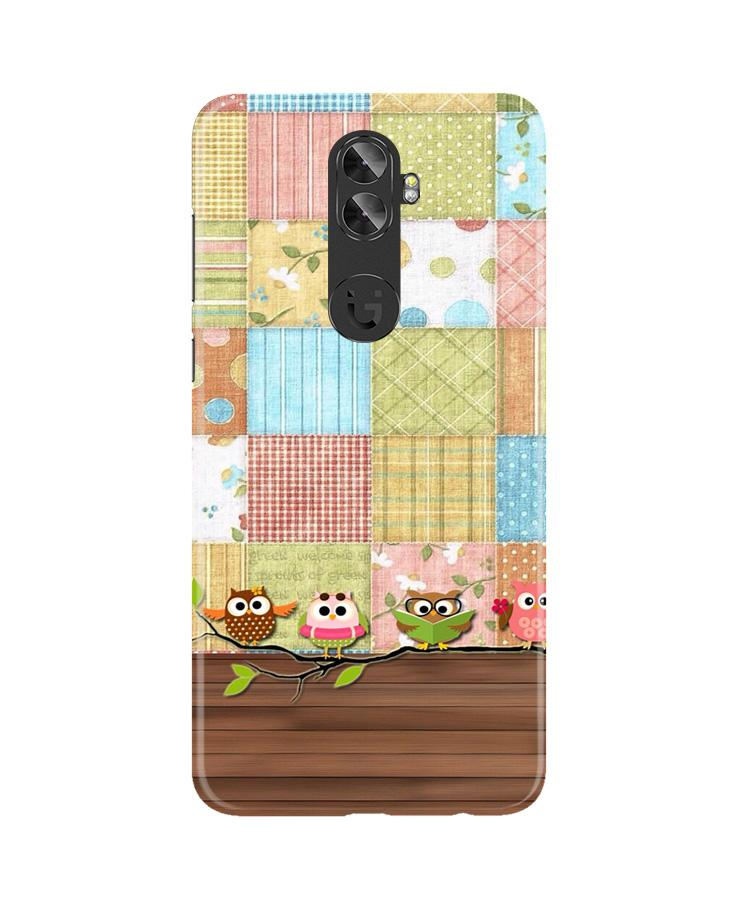 Owls Case for Gionee A1 Plus (Design - 202)