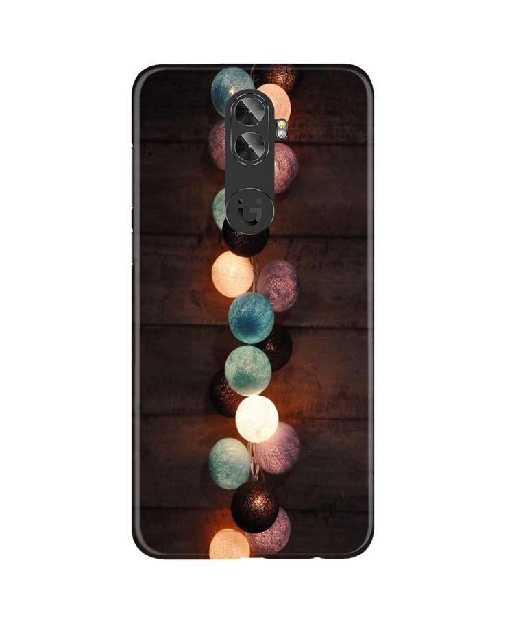 Party Lights Case for Gionee A1 Plus (Design No. 209)