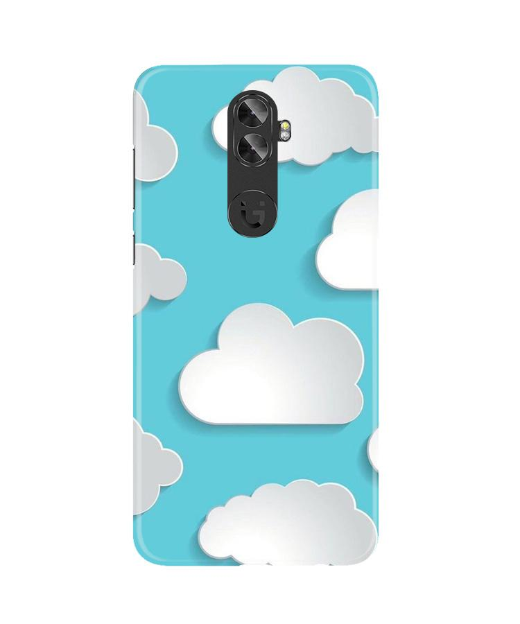 Clouds Case for Gionee A1 Plus (Design No. 210)