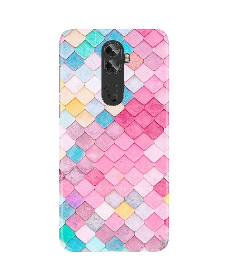 Pink Pattern Case for Gionee A1 Plus (Design No. 215)