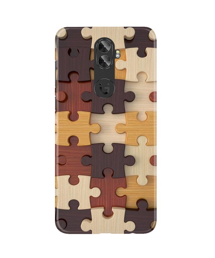 Puzzle Pattern Case for Gionee A1 Plus (Design No. 217)