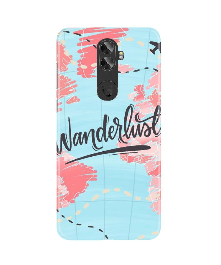Wonderlust Travel Case for Gionee A1 Plus (Design No. 223)