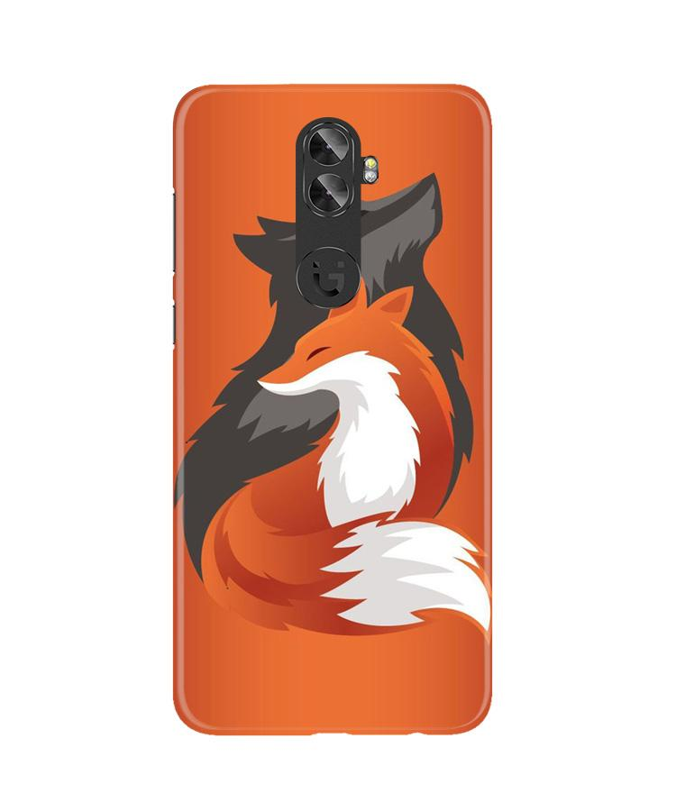 Wolf  Case for Gionee A1 Plus (Design No. 224)