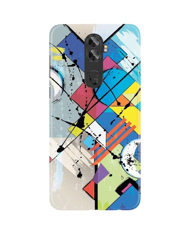 Modern Art Case for Gionee A1 Plus (Design No. 235)