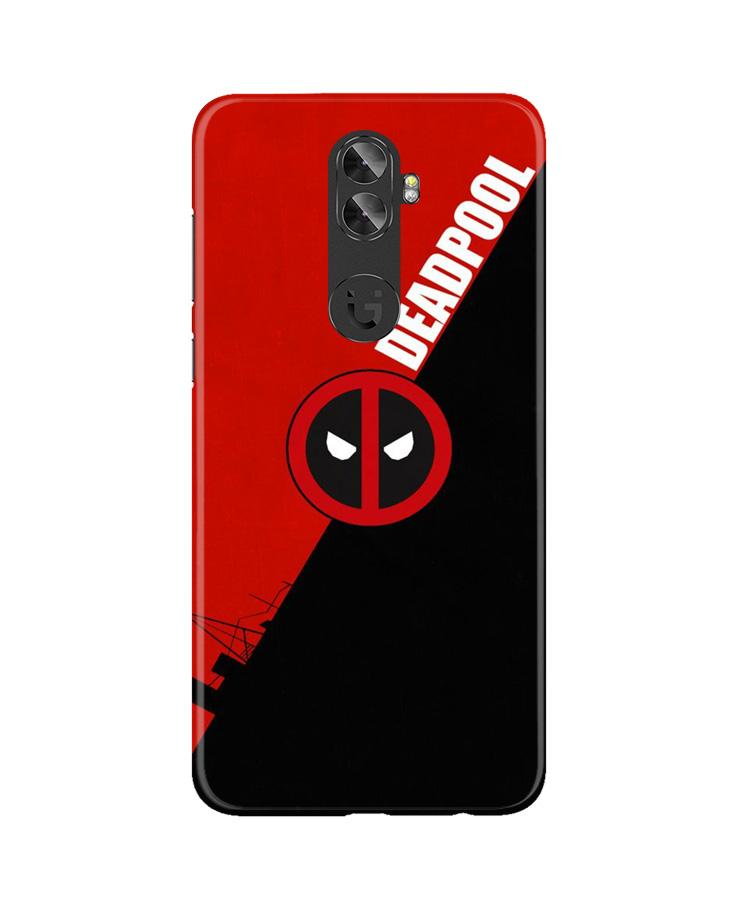 Deadpool Case for Gionee A1 Plus (Design No. 248)