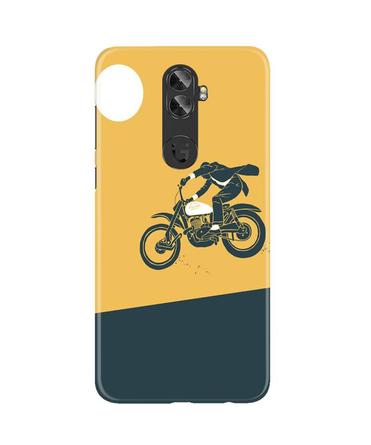 Bike Lovers Case for Gionee A1 Plus (Design No. 256)