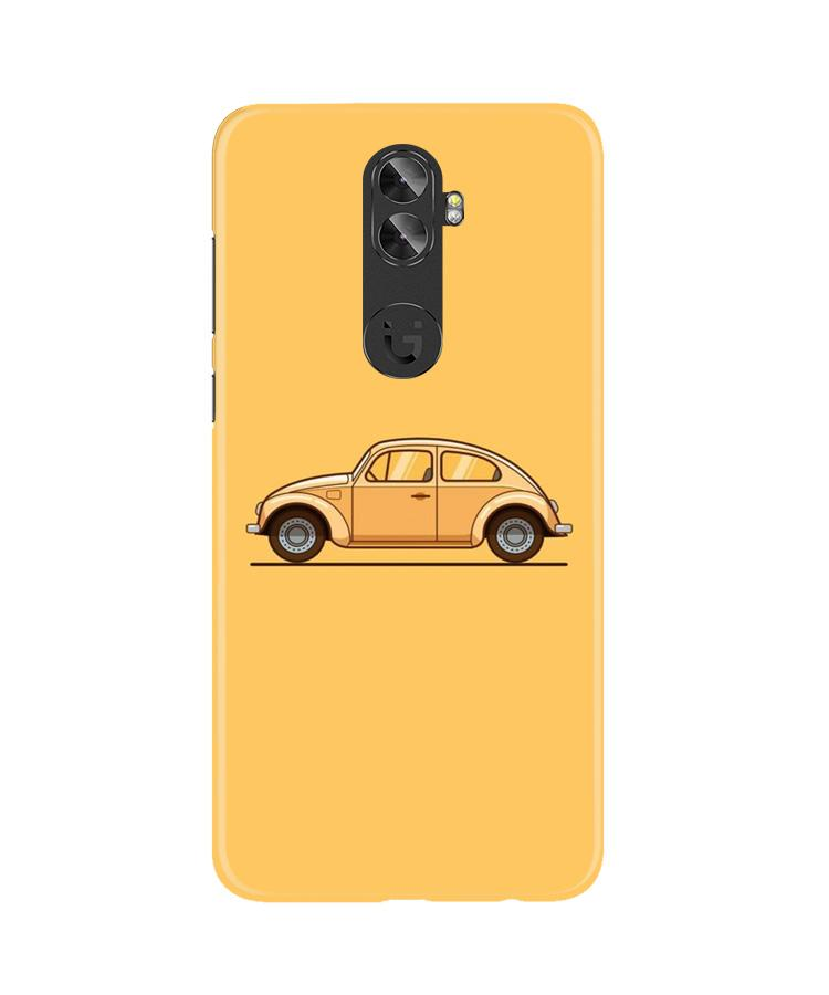 Vintage Car Case for Gionee A1 Plus (Design No. 262)
