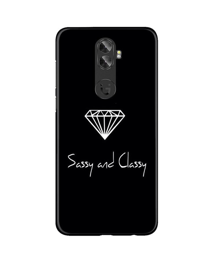 Sassy and Classy Case for Gionee A1 Plus (Design No. 264)