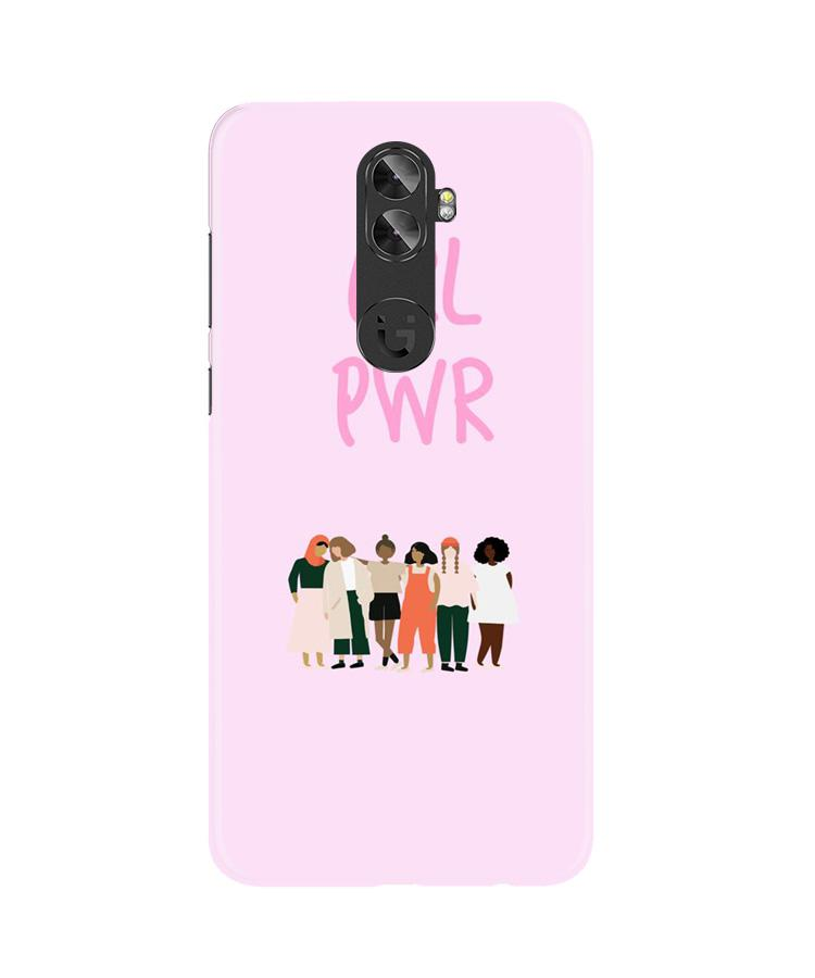 Girl Power Case for Gionee A1 Plus (Design No. 267)