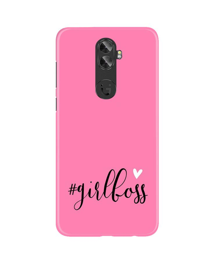 Girl Boss Pink Case for Gionee A1 Plus (Design No. 269)