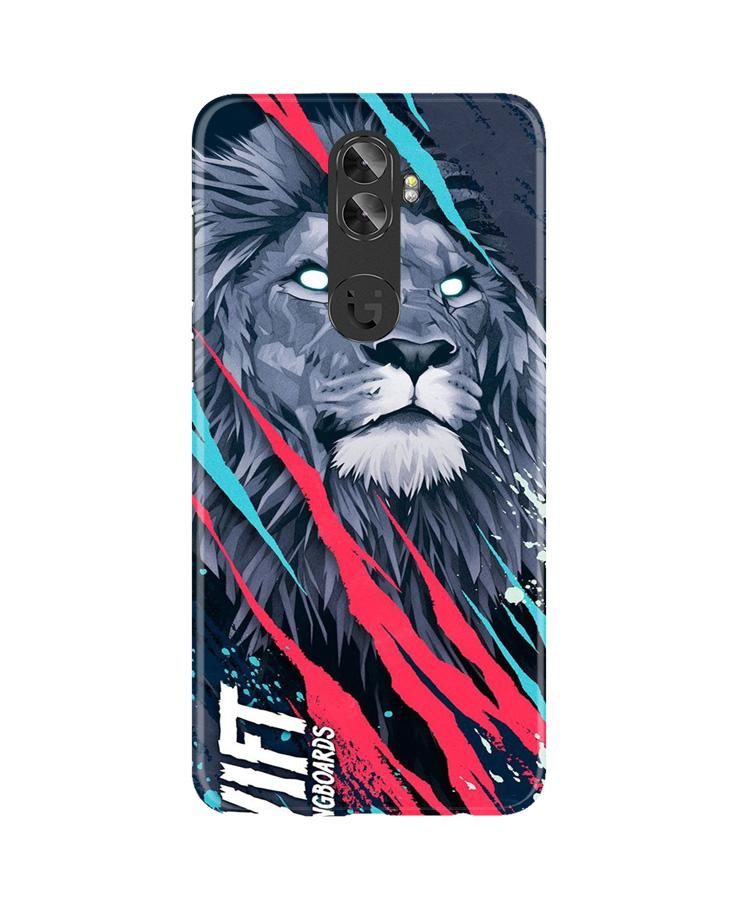 Lion Case for Gionee A1 Plus (Design No. 278)