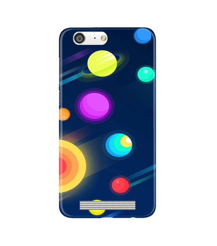 Solar Planet Case for Gionee M5 (Design - 197)