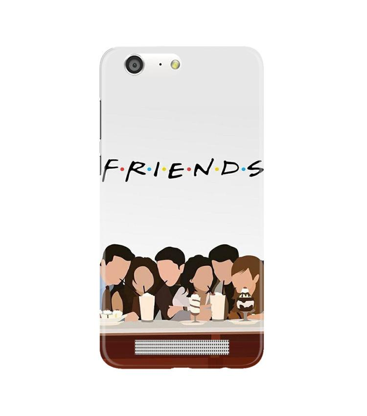Friends Case for Gionee M5 (Design - 200)