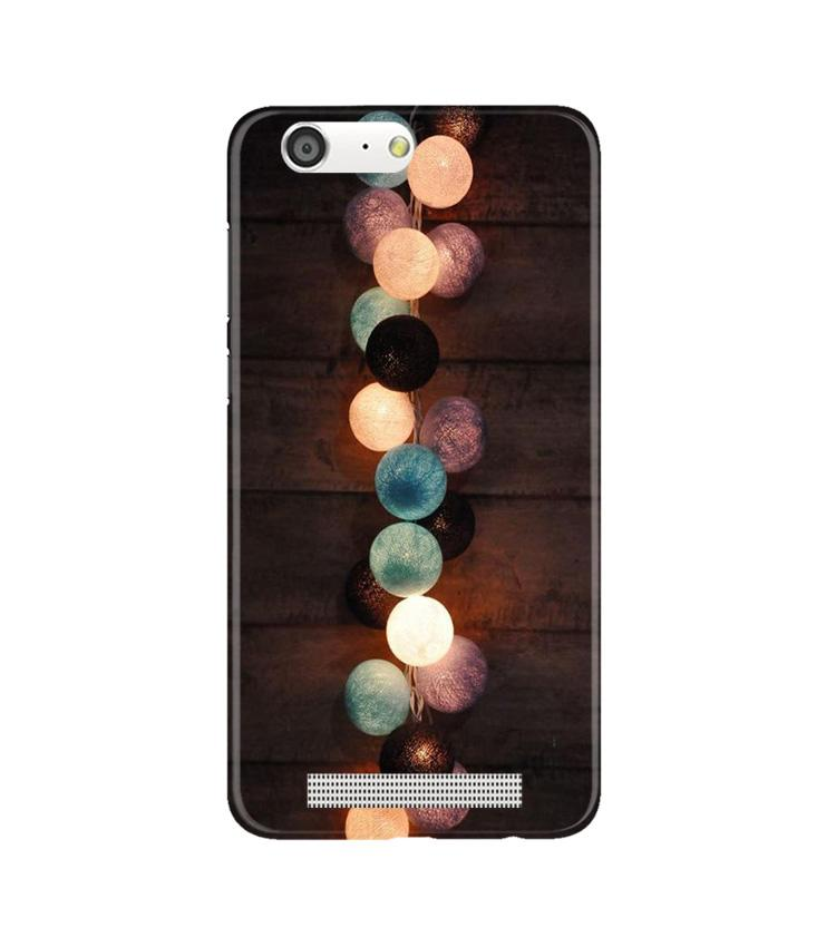 Party Lights Case for Gionee M5 (Design No. 209)