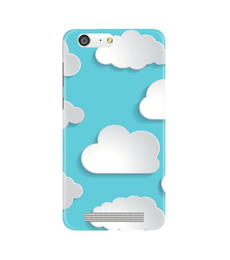 Clouds Case for Gionee M5 (Design No. 210)
