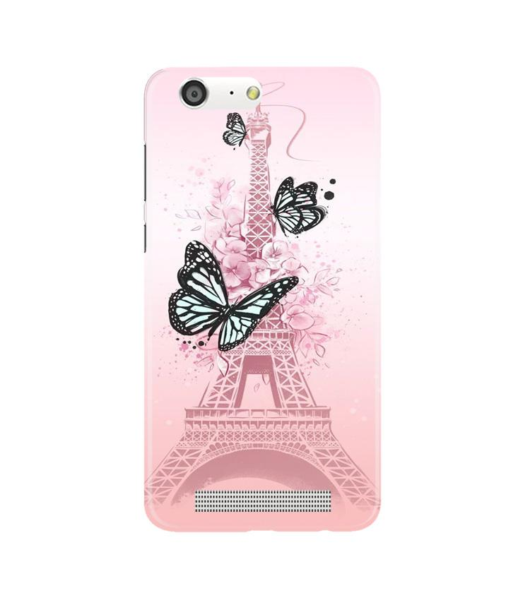 Eiffel Tower Case for Gionee M5 (Design No. 211)