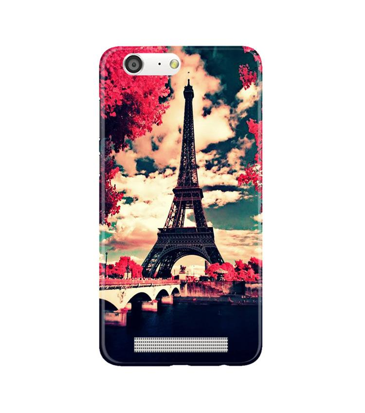 Eiffel Tower Case for Gionee M5 (Design No. 212)
