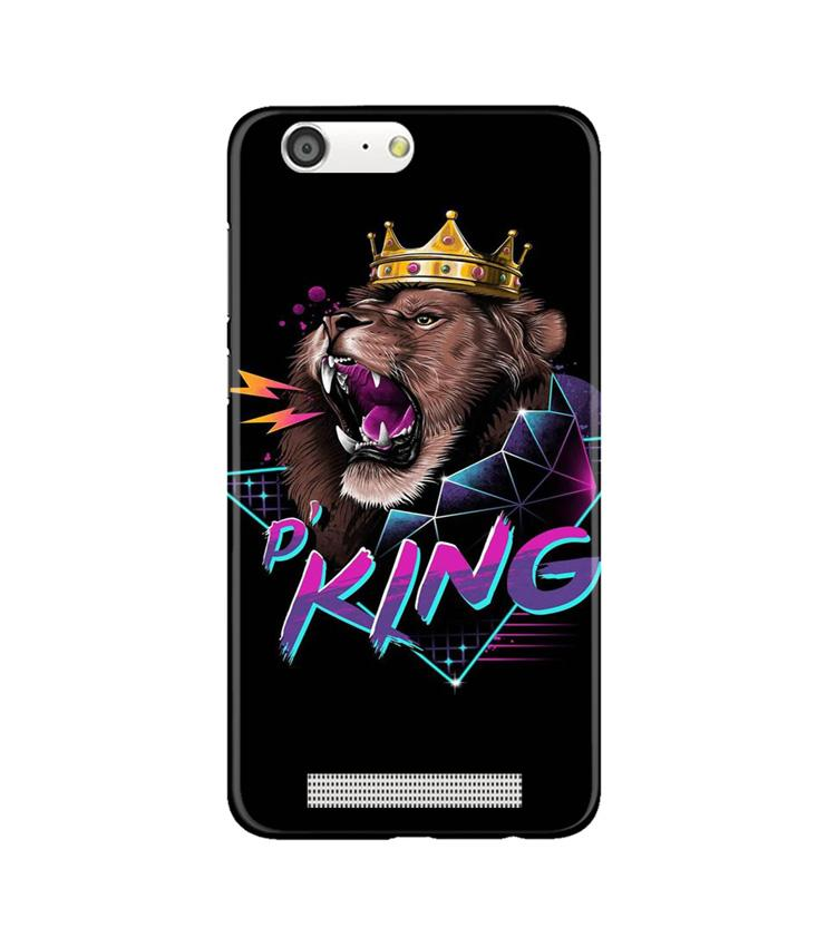 Lion King Case for Gionee M5 (Design No. 219)