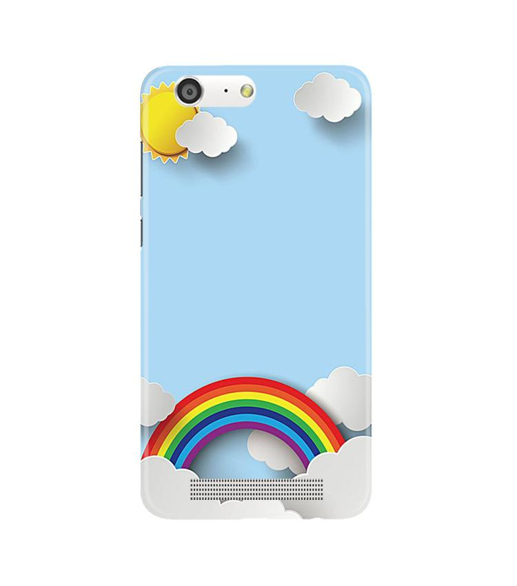 Rainbow Case for Gionee M5 (Design No. 225)