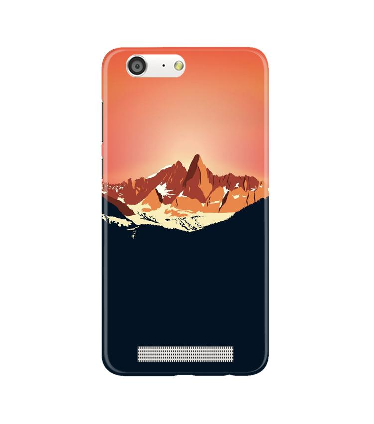 Mountains Case for Gionee M5 (Design No. 227)