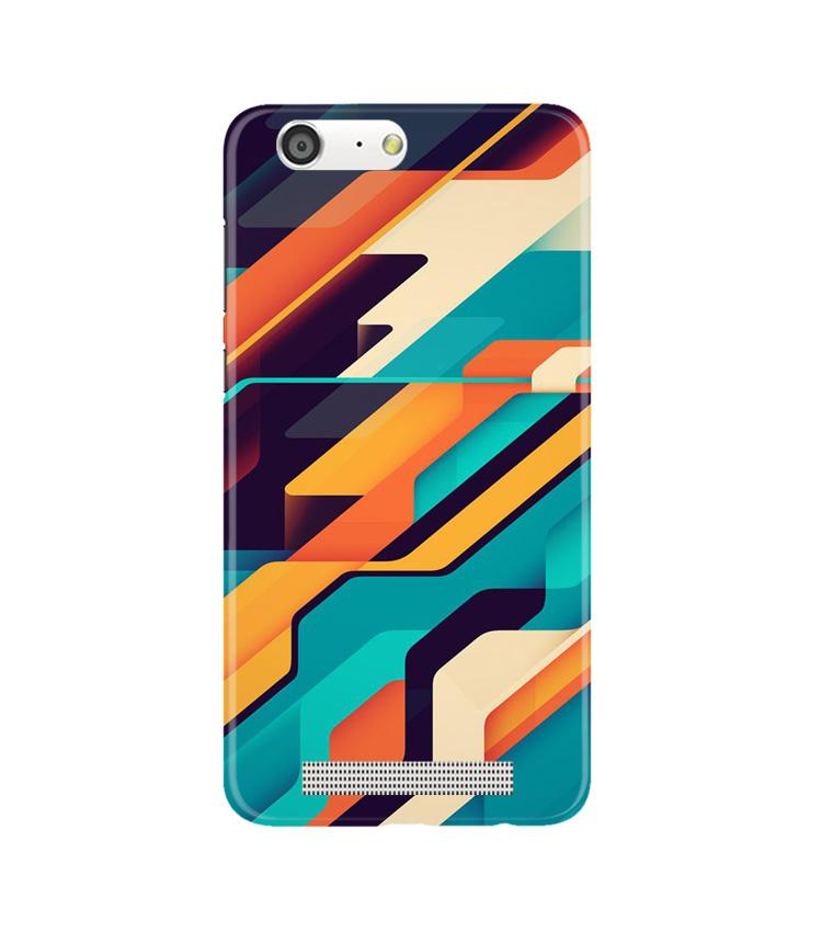 Modern Art Case for Gionee M5 (Design No. 233)