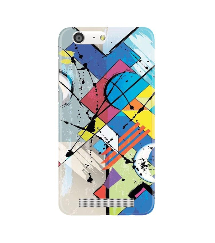 Modern Art Case for Gionee M5 (Design No. 235)