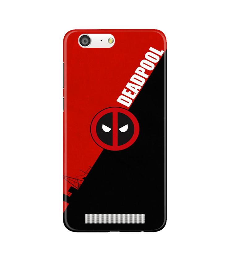 Deadpool Case for Gionee M5 (Design No. 248)
