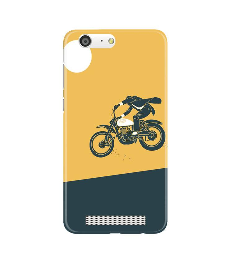Bike Lovers Case for Gionee M5 (Design No. 256)