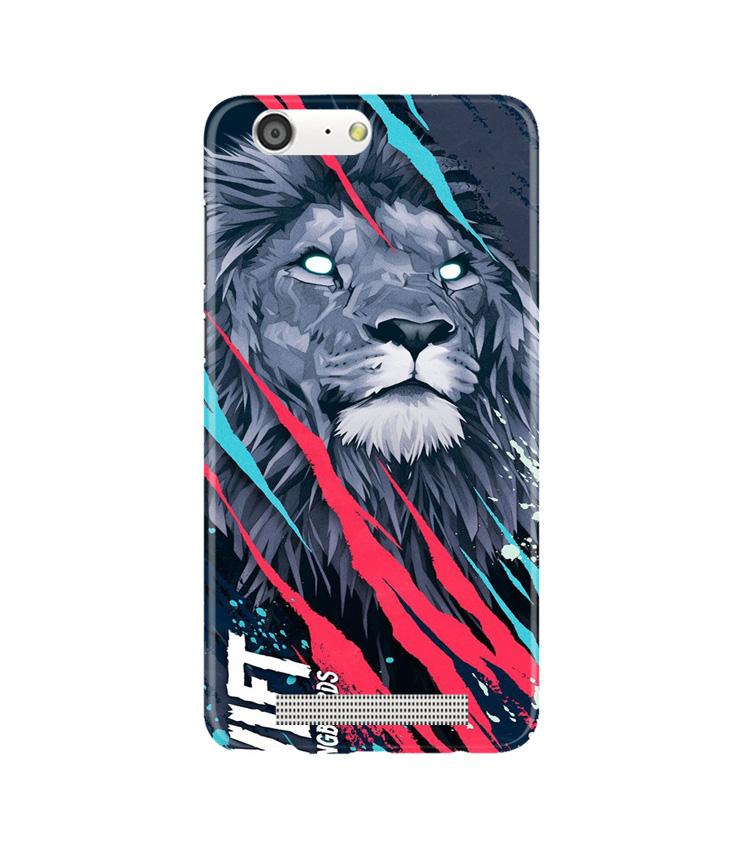 Lion Case for Gionee M5 (Design No. 278)