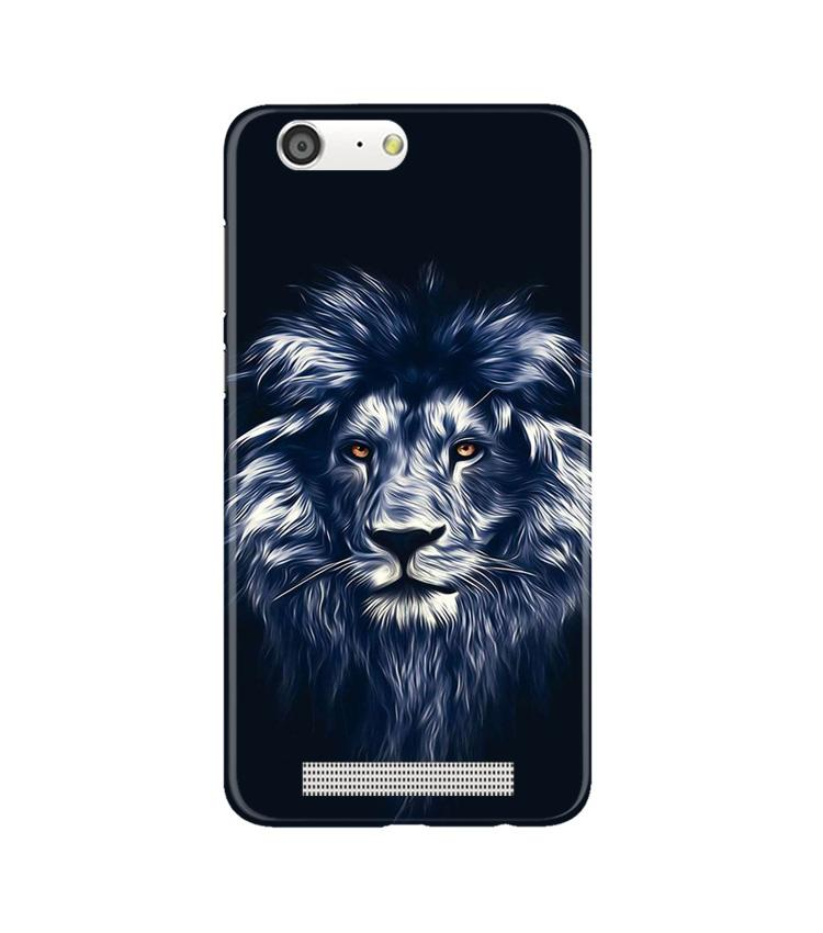 Lion Case for Gionee M5 (Design No. 281)
