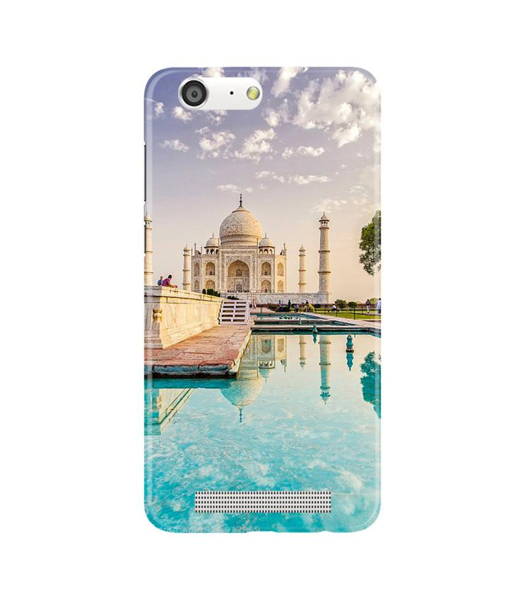 Taj Mahal Case for Gionee M5 (Design No. 297)
