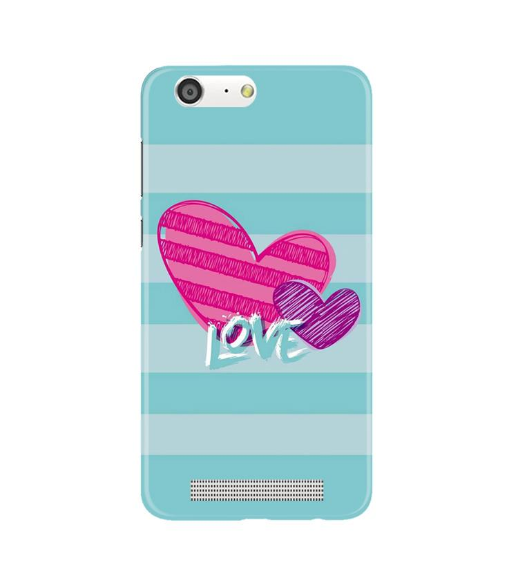 Love Case for Gionee M5 (Design No. 299)