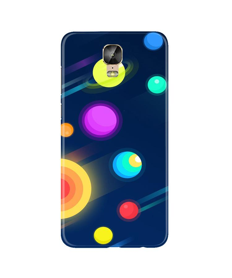 Solar Planet Case for Gionee M5 Plus (Design - 197)