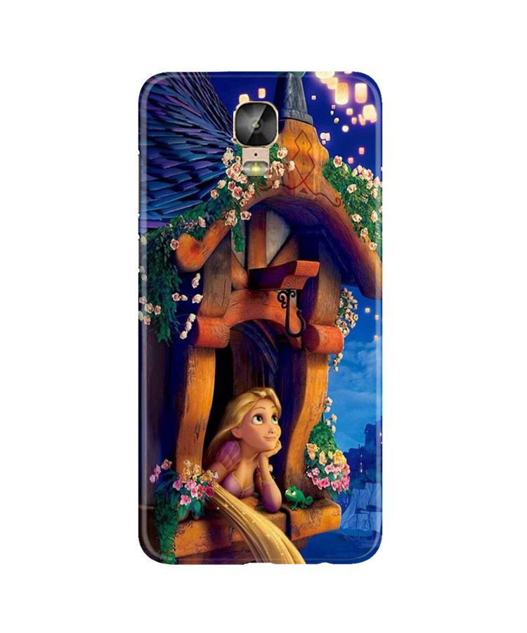Cute Girl Case for Gionee M5 Plus (Design - 198)