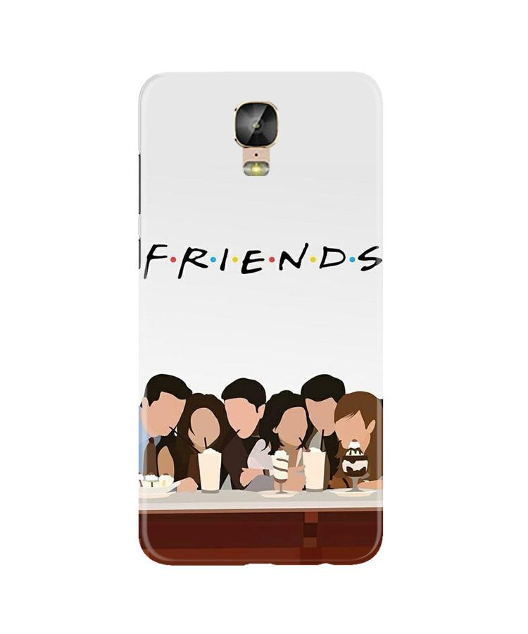 Friends Case for Gionee M5 Plus (Design - 200)