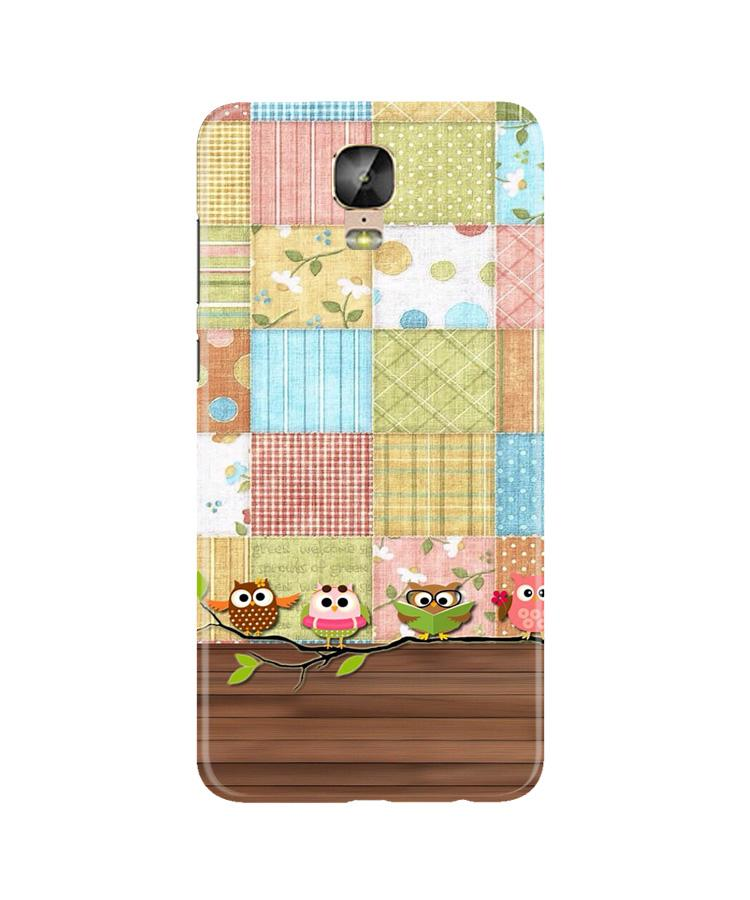 Owls Case for Gionee M5 Plus (Design - 202)