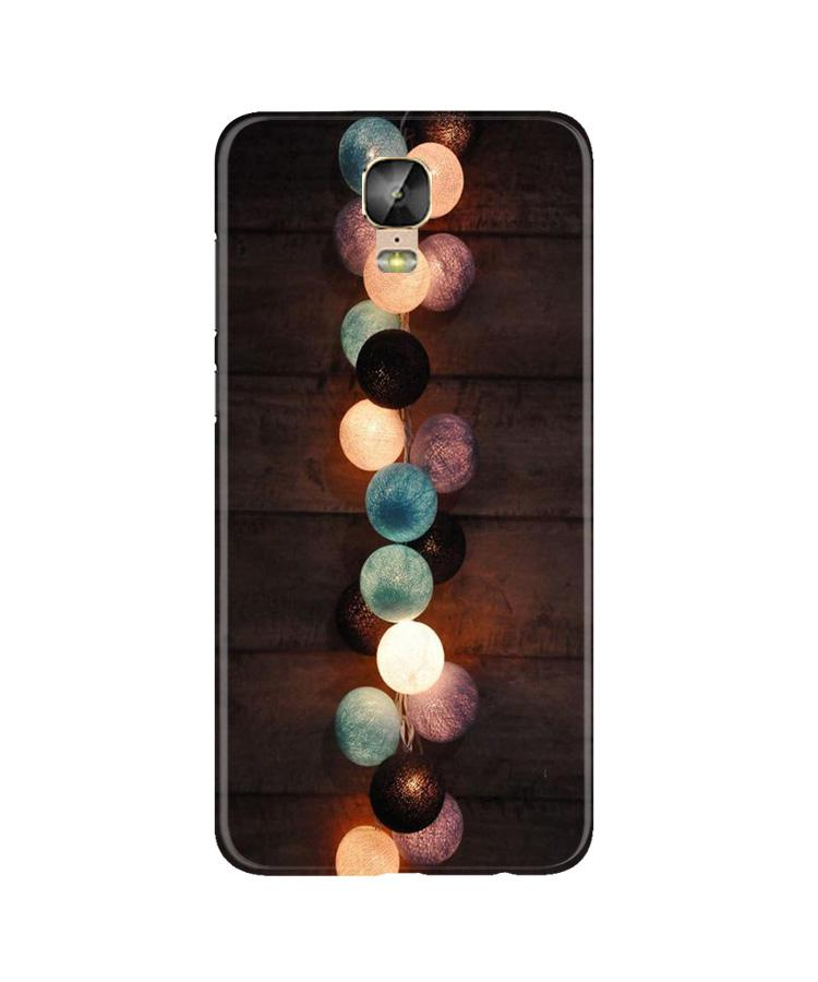 Party Lights Case for Gionee M5 Plus (Design No. 209)