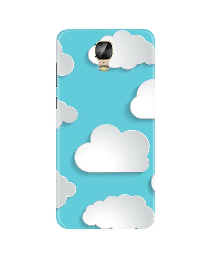 Clouds Case for Gionee M5 Plus (Design No. 210)