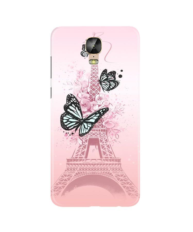 Eiffel Tower Case for Gionee M5 Plus (Design No. 211)
