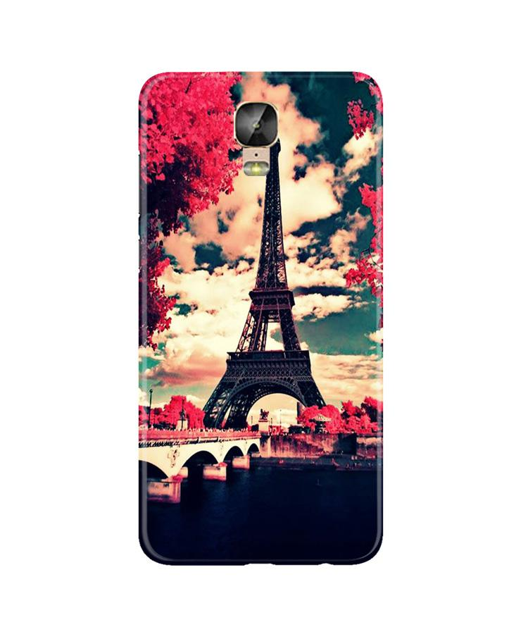 Eiffel Tower Case for Gionee M5 Plus (Design No. 212)