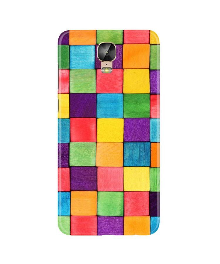Colorful Square Case for Gionee M5 Plus (Design No. 218)