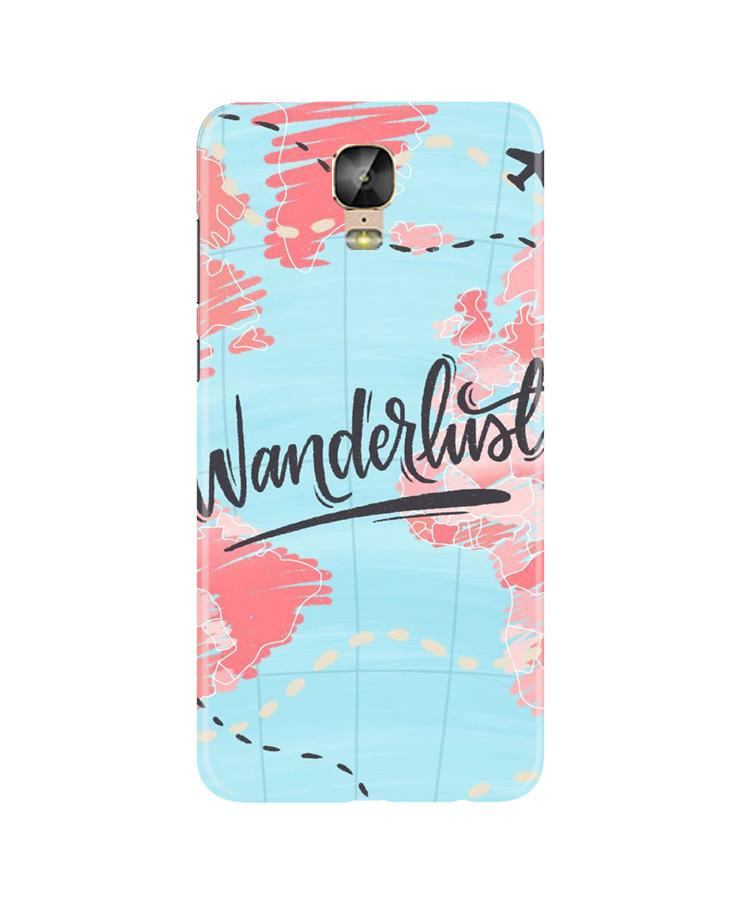 Wonderlust Travel Case for Gionee M5 Plus (Design No. 223)