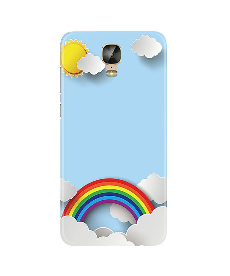 Rainbow Case for Gionee M5 Plus (Design No. 225)