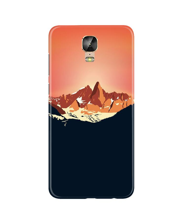 Mountains Case for Gionee M5 Plus (Design No. 227)